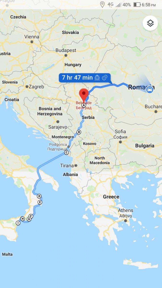 15 Iunie Serbia Muntenegru Italia 1 St Ride Evenimente